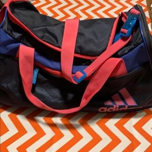 Girls Adidas duffel bag